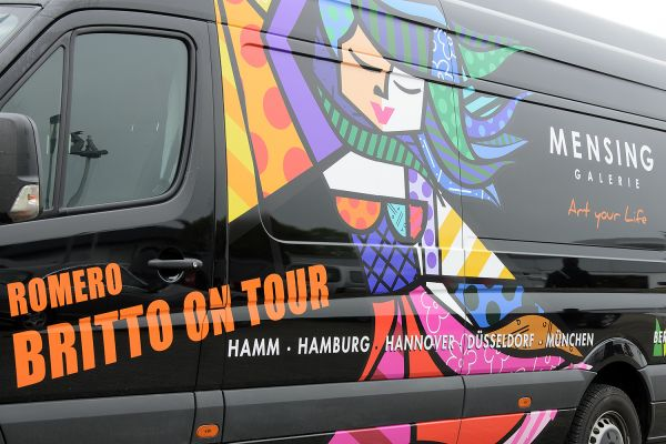Romero Britto on tour